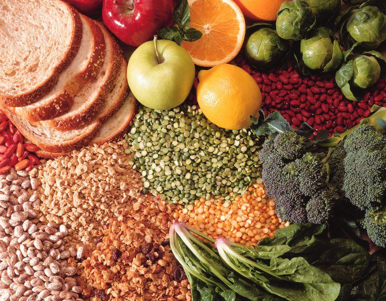 Gesunde Snacks auf eine niedrige Cholesterin-Diät